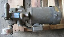 Daikin Piston Pump V15a1ry 85 With 3 Phase Induction Motor Type Twf4804cr 075kw 4
