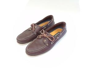 Timberland Loafer Boat Deck Shoes Brown UK 11.5