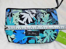 NWT Vera Bradley LIGHTEN UP LARGE COSMETIC Bag in CAMOFLORAL brush & pencil case