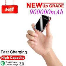 900000mAh Portable Power Bank LCD LED Dual USB Battery Charger For Mobile Phone