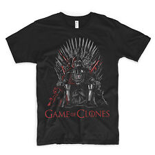 Games Of Clones Thrones T Shirt Star Wars Lord Vader Games Of Throne Han Solo