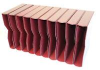 10 rote Schutzkassetten für die pro collect Alben der Deutschen Post