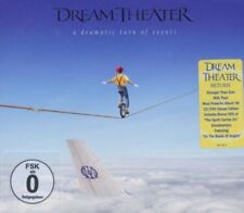 DREAM THEATER A DRAMATIC TURN OF EVENTS CD + DVD BOXMETAL NEW