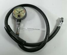 Sherwood 4500 Psi Spg Submersible Scuba Pressure Gauge w Thermometer Nice! #1110