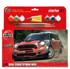 Airfix A55304 Mini Countryman WRC Starter Set 1/32 Scale Free Tracked Post
