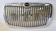 Chrome Vertical Front Grill w/ 300 Badge Fits Chrysler 300 300C 2005-2010