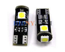 Error Free 3-SMD 5050 T10 2825 W5W LED Bulbs CAN-Bus Good For European Cars