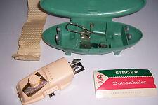 Vintage Singer Sewing Machine Buttonholer ButtonHole Kit Attachment Accessory
