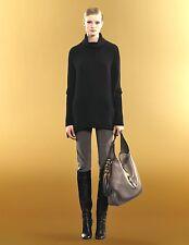 $650 NEW Authentic Gucci Corduroy Skinny Pants Legging Gray, 48, 297535