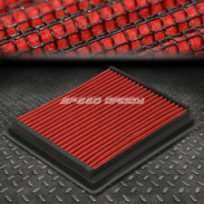 FOR 98-09 RANGER/B-SERIES RED REUSABLE&WASHABLE HIGH FLOW DROP IN AIR FILTER