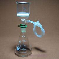 500ml,Glass Suction Filter Kit,150ml Buchner Funnel And 500ml Erlenmeyer Flask