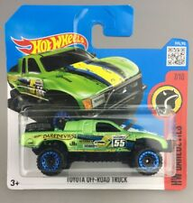 DAREDEVILS 2016 Hot Wheels Toyota Off-road Truck 7/10 Carded Brand Diecast Car