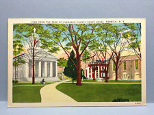 Chenango County Court House Parck Norwich NY Vintage Postcard Color Unposted