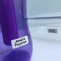 Perfect to stick in to garment labels UltraStick™ Waterproof Printed Labels
