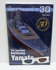 Kagero 16050 - Super Drawings in 3D - The Japanese Battleship Yamato        Book