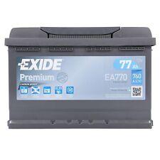 EXIDE EA770 BATTERIA AUTO PREMIUM CARBON BOOST 77AH 760EN 12V