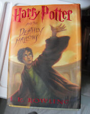 2007 First Edition Book Harry Potter and the Deathly Hallows JK Rowling