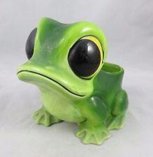 Vintage Rubens Originals - Green Frog Planter - Japan