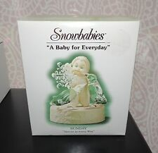 DEPARTMENT 56 SNOWBABIES A BABY FOR EVERYDAY SUNDAY SPECIAL IN EVERY WAY ...NIB