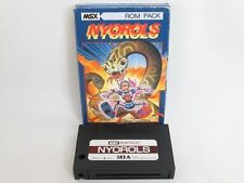 MSX NYOROLS Import Japan Video Game No inst 1254 MSX