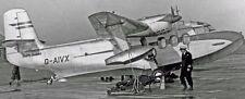 SA-6 Sealand Short Amphibious Airplane Wood Model Replica Big New