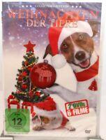 Weihnachten der Tiere + 6 Filme auf 2 DVD + 445 Minuten Spaß für die Familie +