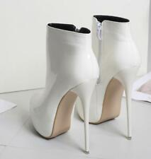 Womens Sexy European uk7.5-10.5  Mid Calf Boots Nightlculb Party High heel Shoes