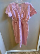 Japanese Weekend Short Sleeved PJ Dress, Nursing/maternity, Size M, Exlnt Con