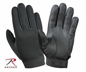 Rothco 3455 Multi-Purpose Neoprene Gloves - Black