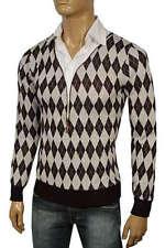 Jersey de hombre Roberto Cavalli hilo plata hombre talla XL -- %100 ORIGINAL