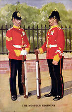 Military Art # 2095 by Gale & Polden. The Norfolk Regiment.