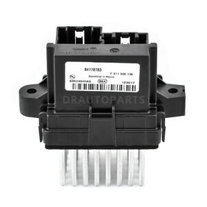 Blower Motor Resistor For Buick Cascada Encore Regal Verano Cadillac 84178783