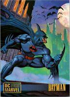 1995 Fleer/Skybox Marvel Versus DC Promo Card No Number Batman