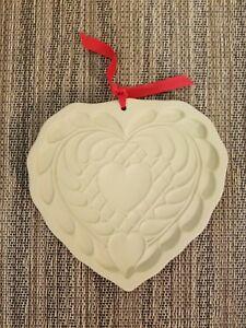 1988 Hill Design ~ Brown Bag Cookie Art ~ Vintage Valentine Heart Cookie Mold