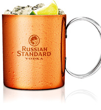 BICCHIERE MUG RAME RUSSIAN STANDARD MOSCOW