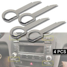 4x CD Stereo Radio Removal Key Release Tool For VW Tourareg Mercedes Benz Audi