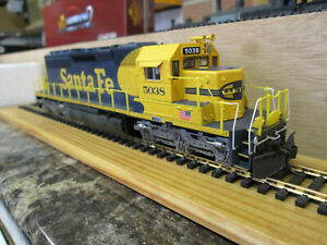 BROADWAY LIMITED 2270 EMD SD40-2 ATSF 5038 LIVERY SOUND FITTED BOXED
