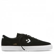 Cons Shoes Louie Lopez Pro Low Black White Suede Converse Skateboard Sneakers