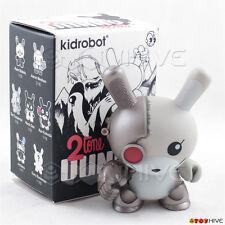 Kidrobot Dunny 2010 2tone vinyl figure by Chuckboy loose cyborg