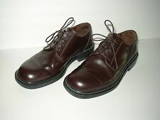 Eddie Bauer Brown Leather Oxfords SZ 11.5 Made in Italy
