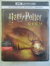 New ListingSealed Harry Potter 8-Film Collection 4K Ultra Hd Blu-Ray Digital Hdr