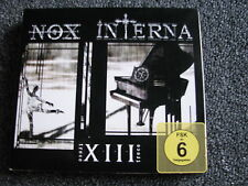 Nox Interna-XIII Trece CD + DVD-Made in EU-Gothic-Darkwave-FSK 6