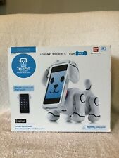 Bandai White TechPet Interactive Virtual Robot Dog iPhone 3GS 4,4S iPod Touch