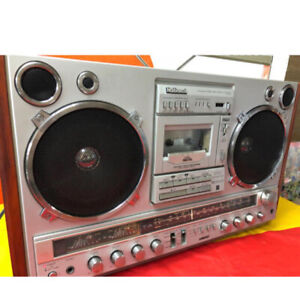 National Retro Radio Casing Rx-7000 Large Boombox Audio