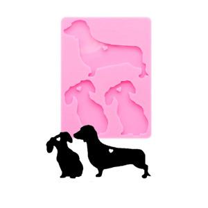Dachshund Dog Mould Keyring Jewellery Making Tool Silicone Resin Mold Uk Seller
