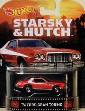 1976 FORD GRAN TORINO STARSKY & HUTCH 1:64 Hot Wheels cfr34 Retro Entertainment