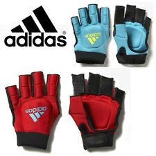 adidas Field Hockey OD Protective Knuckle Gloves Hard Shell Soft Foam Thumb SALE