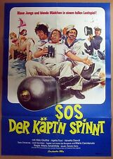 SOS Der Käpt´n Spinnt - Aldo Giuffré - A1 Filmposter Plakat (j-9839