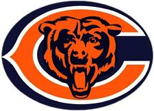 12 STICKERS CHICAGO BEARS  Vinyl HQ Decal Stickers  CAR Laptop WALL Helmet