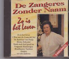 De Zangeres Zonder Naam-Zo Is Het Leven cd album